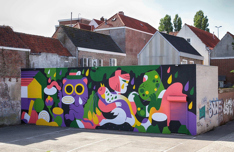 Puzzel Blind Walls Gallery Breda