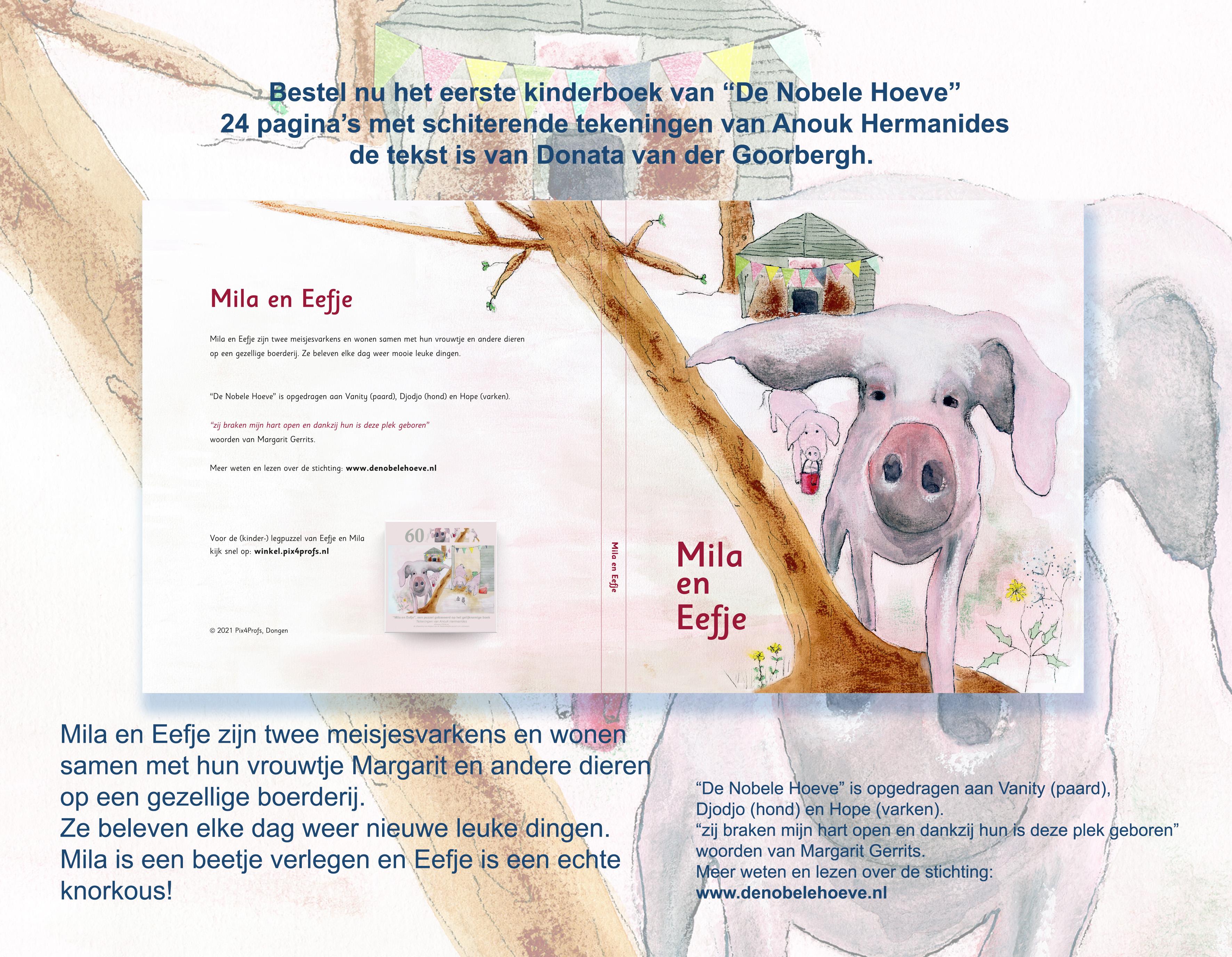 Mila en Eefje, een kinderboek VOORVERKOOP